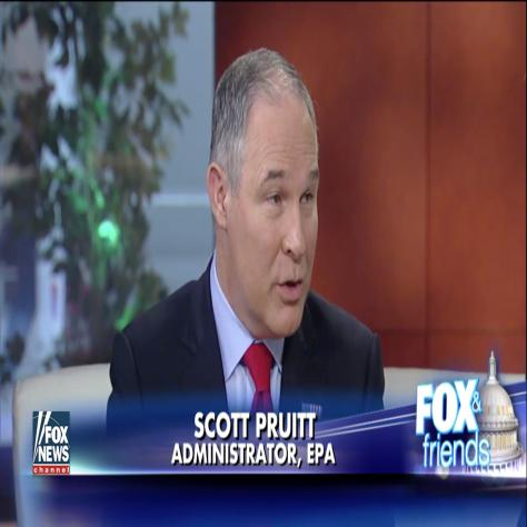 Scott Pruitt EPA Administrator
