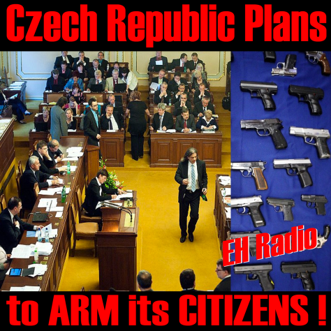 Czech Republic Plans Arming Its Citizens